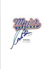 Corbin Bernsen Signed Autographed MAJOR LEAGUE Full Movie Script COA VD