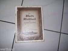 KNORR altes Kochbuch der deutschen Hausfrau