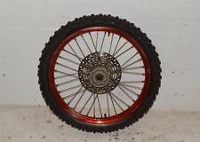 1996 Suzuki RM250 RM 250 Front Wheel Hub Tire Rim Spokes OEM Stock