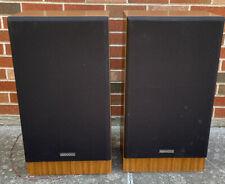 PAIR VINTAGE (2) KENWOOD JL-670 SPEAKERS - 3 WAY SPEAKER SYSTEM