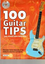 D.Mead: 100 Guitar Tips, you should have been told.