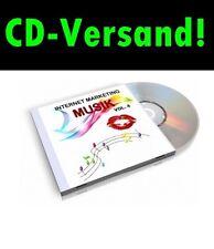 CD-SPEDIZIONE Internet marketing musica v4 100! mp3s per YouTube video Slide shows