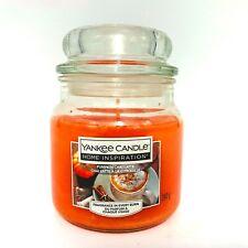 Yankee Candle Pumpkin Chai Latte Candle | Medium Glass Jar 12Oz | 340G - NEW