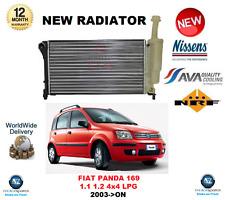 Pour Fiat Panda 169 1.1 1.2 4X4 GPL 2003 - > sur NEW NISSENS Radiator OE QUALITY