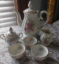 Vintage U S ZONE GERMANY IJB TEAPOT Set Cream/Sugar and Cups