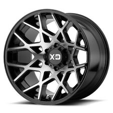 20 Inch Black Wheels Rims LIFTED Toyota Tacoma 4Runner Truck XD Chopstick 20x12