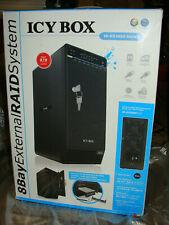 "Icy-box ib-rd3680su3 8 veces RAID carcasa 8x 3,5"" discos duros SATA usb3.0, eSATA"