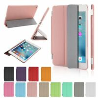 Ultra thin Leather Smart Cover with Stand case for Apple ipad 2 3 4 Air Mini Pro