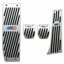 Pedaliera kit Argento per BMW M1 M3 M5 M6 E30 E32 E34 E36 E38 E39 E46 E60 E61
