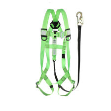 Safety Harness Aerial Lift, All-in-One with Lanyard kit,Meets OSHA Requirements