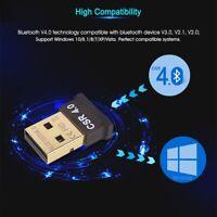 Mini USB Bluetooth CSR 4.0 Dual Mode Adapter Dongle for Windows 10 8 7 Vista XP