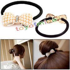 Mode version coréenne de perle arc bande de cheveux / cheveux corde Nouveau