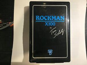 SR&D Rockman X100 Tom Scholz Legendary Headphone Guitar Amplifier and Effects