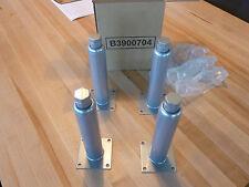 """Table/Equipment 9"""" Adjustable Steel Legs (B3900704) - Set of 4"""