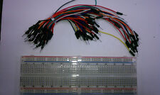 830 Tie Point Solderless Breadboard  with 65 jumpers