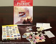 Whitman H.E.HARRIS & CO Patriot US Stamp Collection Starter Kit Stamps & Hinges