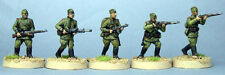 TQD Ri06 20mm Diecast WWII Russian Red Army Command in Soft Caps
