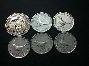 Croatia Commemorative coins- 5 KUNA 1994 - 1 kuna 1994-2014- 6 PCS !!!