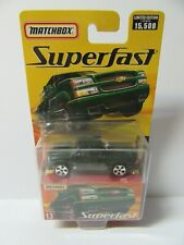 Matchbox Superfast No.13 Chevy Silverado Pick-up Truck - Dark Green - Mint/Boxed