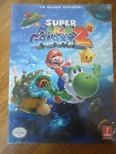 // NEUF BLISTER ** GUIDE SUPER MARIO GALAXY 2 ** NINTENDO PRIMA GAMES WII VF FR