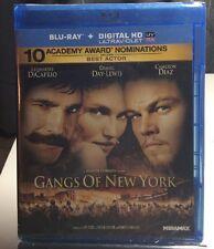 Gangs of New York (Blu-ray Disc,2011,Includes HD Digital Code)Brand NEW-Free S&H
