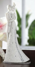 Forever Bride and Groom New Wedding Cake Topper by Gina Freehill