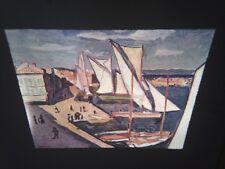 "Albert Marquet ""Port Of St. Tropaz"" Fauvism French Art 35mm Glass Slide"