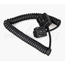 MK-FA01 TTL Sync Cords Flash Light Off Camera Cable Sony Minolta DSLR Speedlite