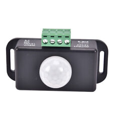 Automatic DC 12V 24V 6A Infrared PIR Motions Sensors Switch For LED light Lamps