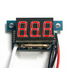 0.36inch Red LED Digital DC Ammeter AMP Mini Current Panel Meter DC 0-9.99A JF