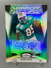 2020 Panini Certified Football Mirror Signatures Mark Duper 46/49 #MS-MD