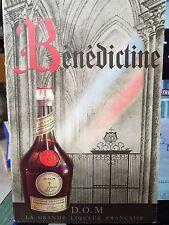 Benedictine D.O.M La grande liqueur francaise / Imp Draeger / fascicule