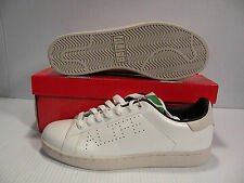ALIFE COURT CUP LEATHER  SNEAKERS MEN SHOES WHITE S92CCZ1 SIZE 9.5 NEW