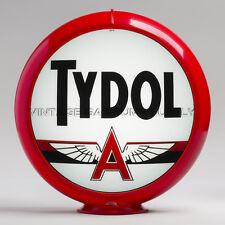 """Tydol 13.5"""" Gas Pump Globe w/ Red Plastic Body (G230)"""