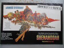 Shenandoah Pressbook - 1965 Film, James Stewart