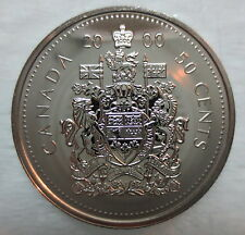 2000 CANADA 50 CENTS PROOF-LIKE HALF DOLLAR COIN
