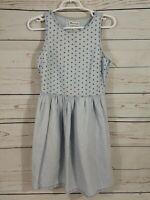 Madewell Sleeveless Denim Dress With Pockets ~ Women's 2  ~ Light Blue