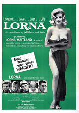 "Lorna Movie Poster Replica 13x19"" Photo Print"