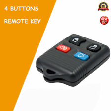 4 Buttons Entry Remote Key Fob Case Keyless For Ford 02-11 for Explorer Escape