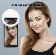 LED Selfie Ring Light with Cell Phone Holder Stand for Live Stream and Makeup