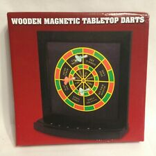 Wooden Magnetic Executive Decision Tabletop Darts For Home or Office!