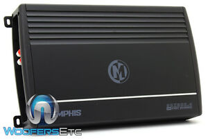 MEMPHIS SRX300.4 4-CHANNEL 600W COMPONENT SPEAKERS MIDS TWEETERS AMPLIFIER NEW