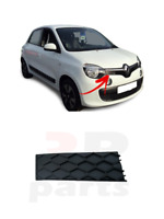FOR RENAULT TWINGO 2014 - 2019 NEW FRONT GRILLE UPPER COVER BLACK TRIM RIGHT O/S
