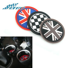 2pcs//set Soft Silicone Water Cup Holder Car Coasters for Mini Cooper 77mm K05