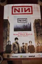 "Nine Inch Nails - With Teeth POSTER PROMO RARE POLISH 16"" x 23"""
