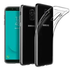 For Samsung Galaxy J6 2018 J600F Glass Screen Protector and TPU Gel Back Case