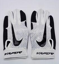 Nike Youth Vapor Edge Batting Gloves White/Wolf Grey/Black youth Medium