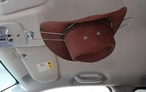 GEEDAR Cowboy Hat Rack for Trunk, Cowboy Hat Holder for Car, Saver Hat Clip for
