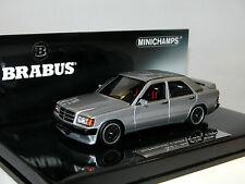 Minichamps 437032604, BRABUS 3.6S (190E), 1989, silver, 1/43 OVP Limited