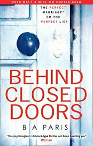 Behind Closed Doors by Paris, Ba Book The Cheap Fast Free Post
